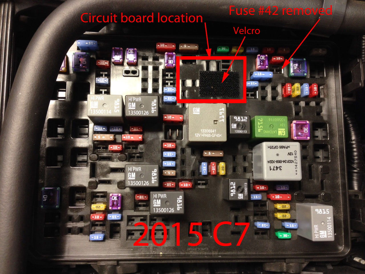c7 corvette fuse box diagram  c7  get free image about
