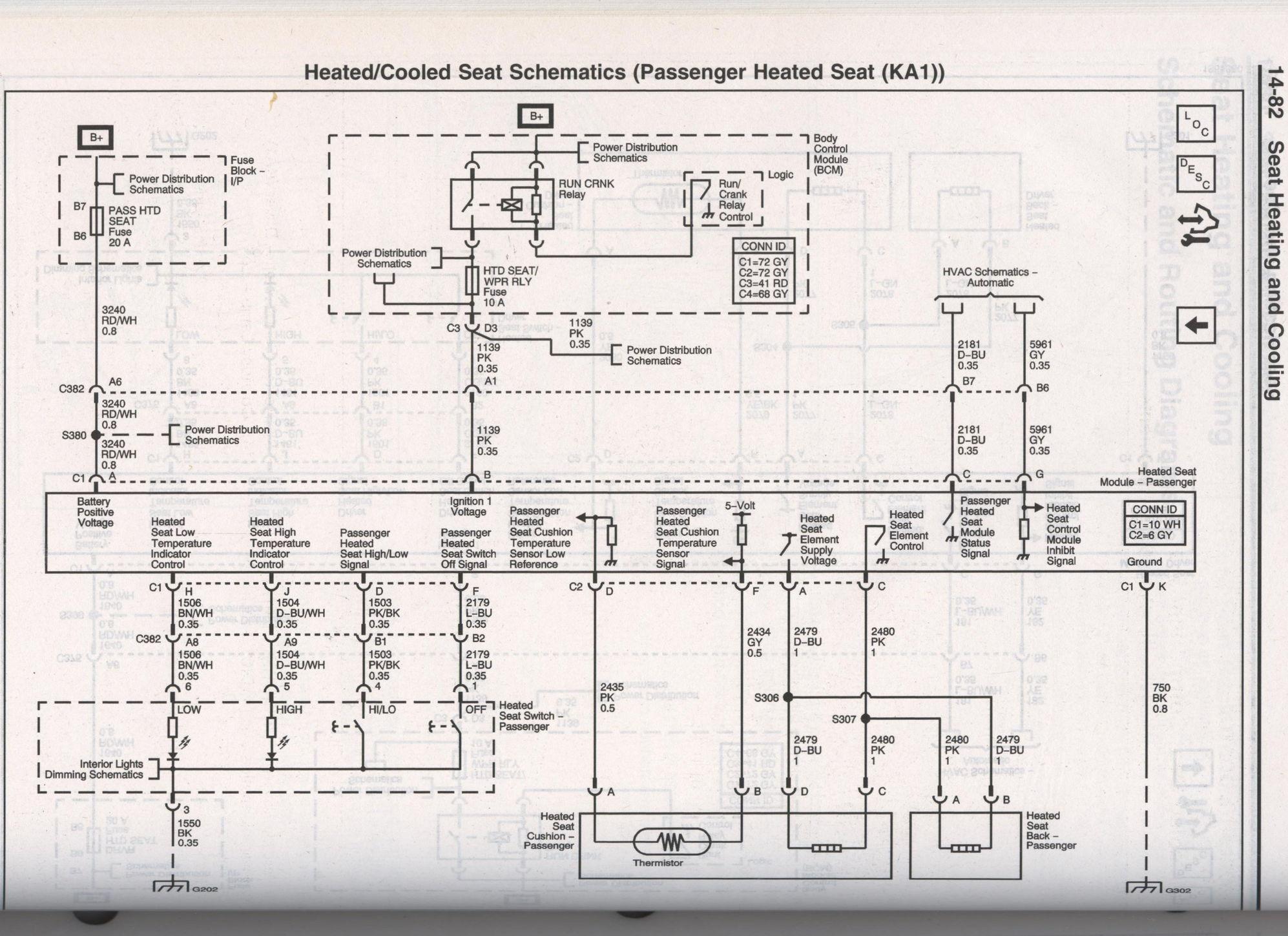 Corvette-Germany.de • Thema anzeigen - Schaltplan Sitzverkabelung