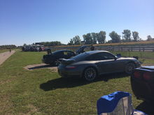 Pic of Jerry's Turbo S PDK at Ubly race track.