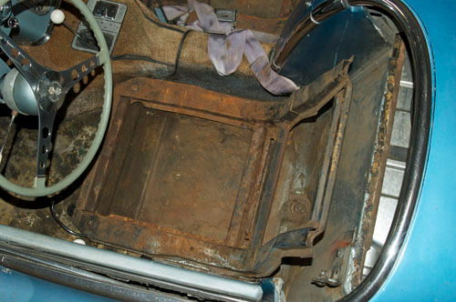 1958 Corvette Seat Foam Al Knoch