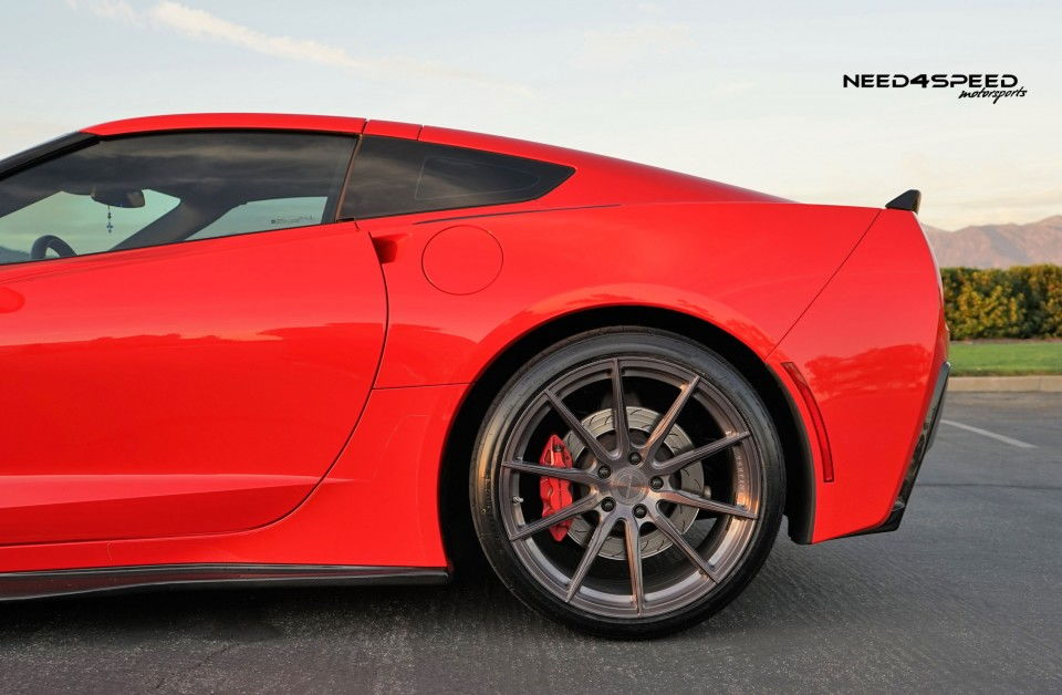 All New Vertini Rf1 1 Light Weight Spun Forged For Your C7