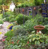 The lower garden 2011