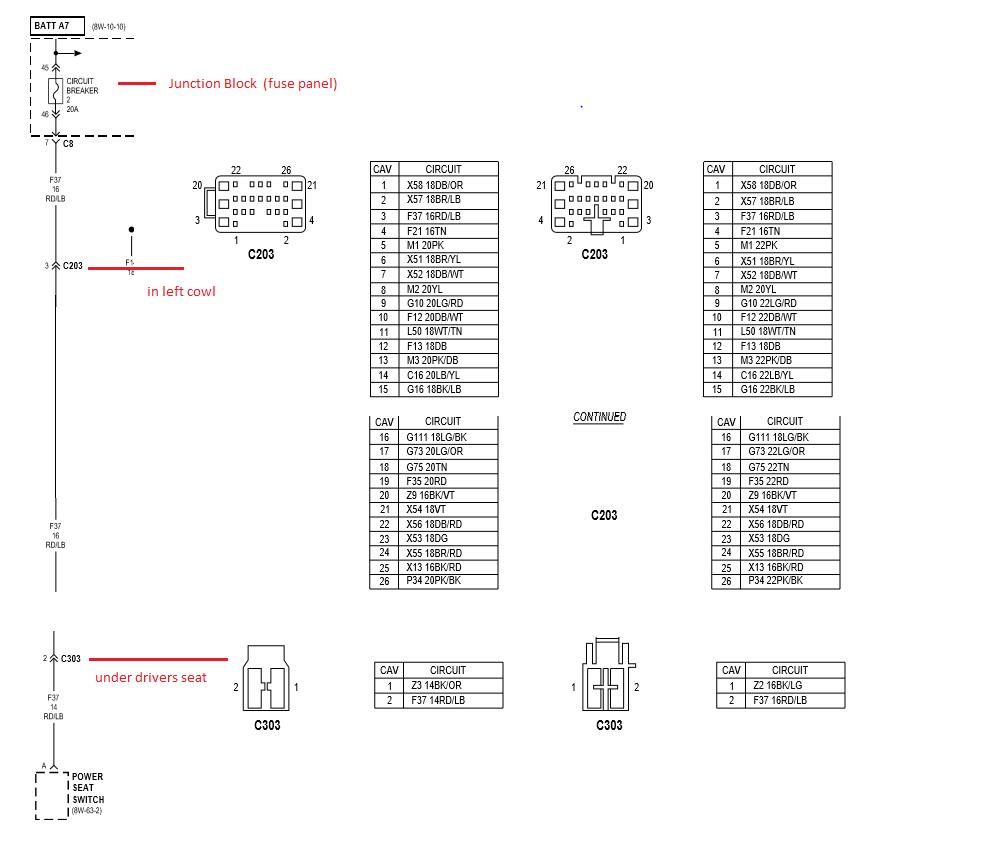1998 power seat diagram dodge diesel diesel truck resource forums