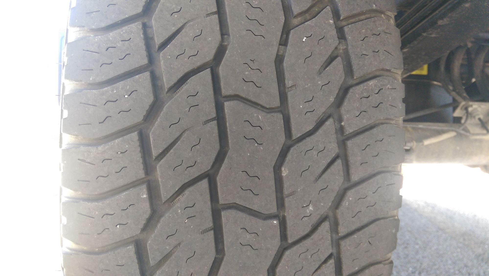 tire wear ford  forum community  ford truck fans