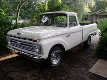 Restored 1965 F100 - Purchased New November 1964
