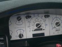 reverse glow gauges