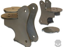 coil brackets from ballistic fabrication