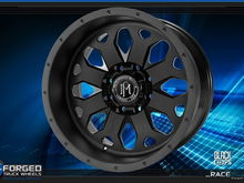 Race wheel in Black Ops finish