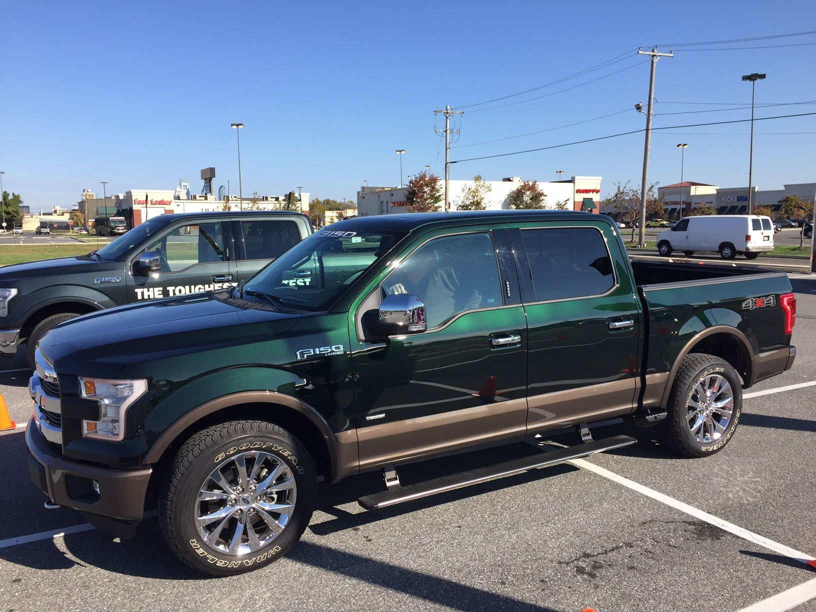 Ford F Guard Green | 2017/2018 Ford Reviews