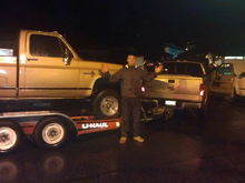 Towing a Chevy