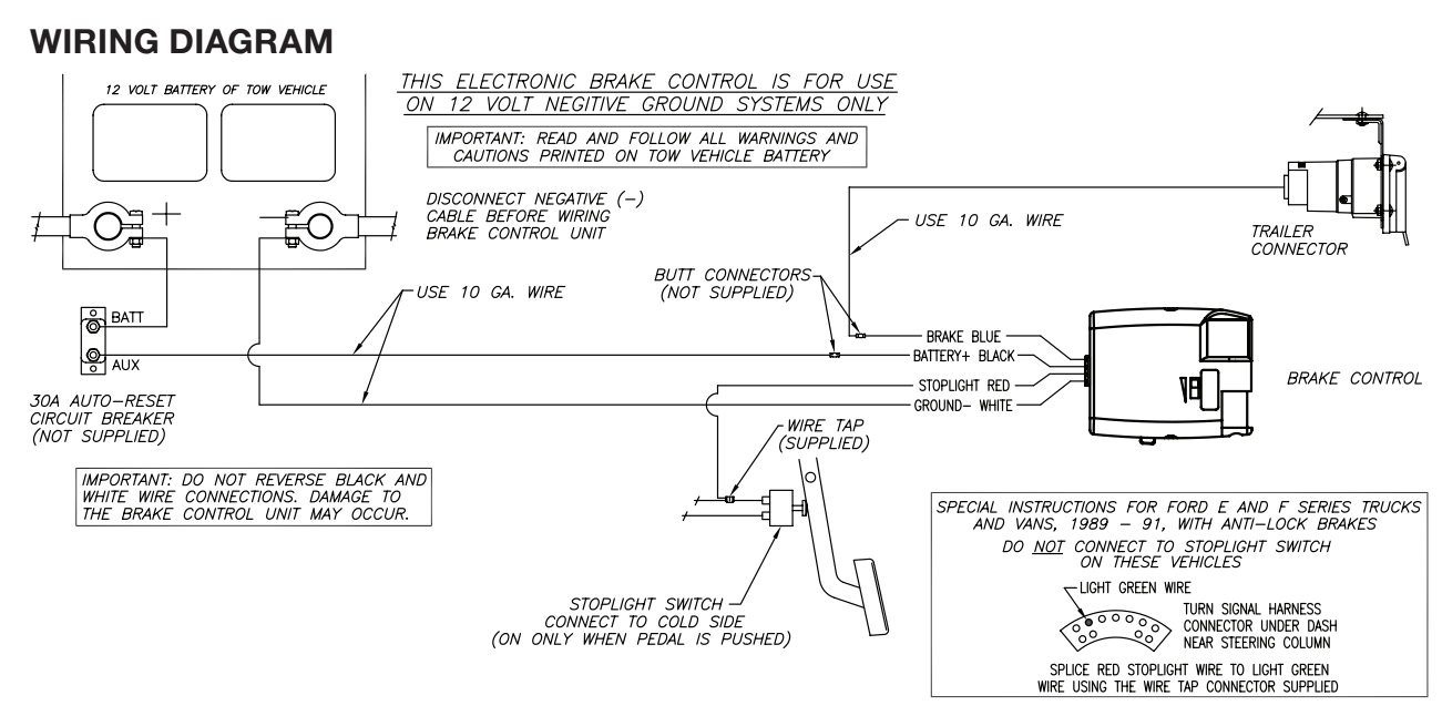 2000 Ford F250 Trailer Brake Wiring Diagram : E od to zf wiring diagram get free image about