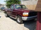Garage - Burgundy truck