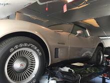 2 corvettes 78 pace car 82 collectors edition