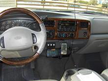 New lower dash installed