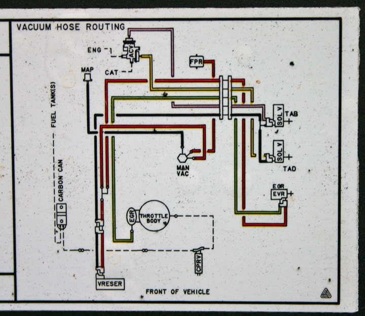 Vacuum Line  Hose Question