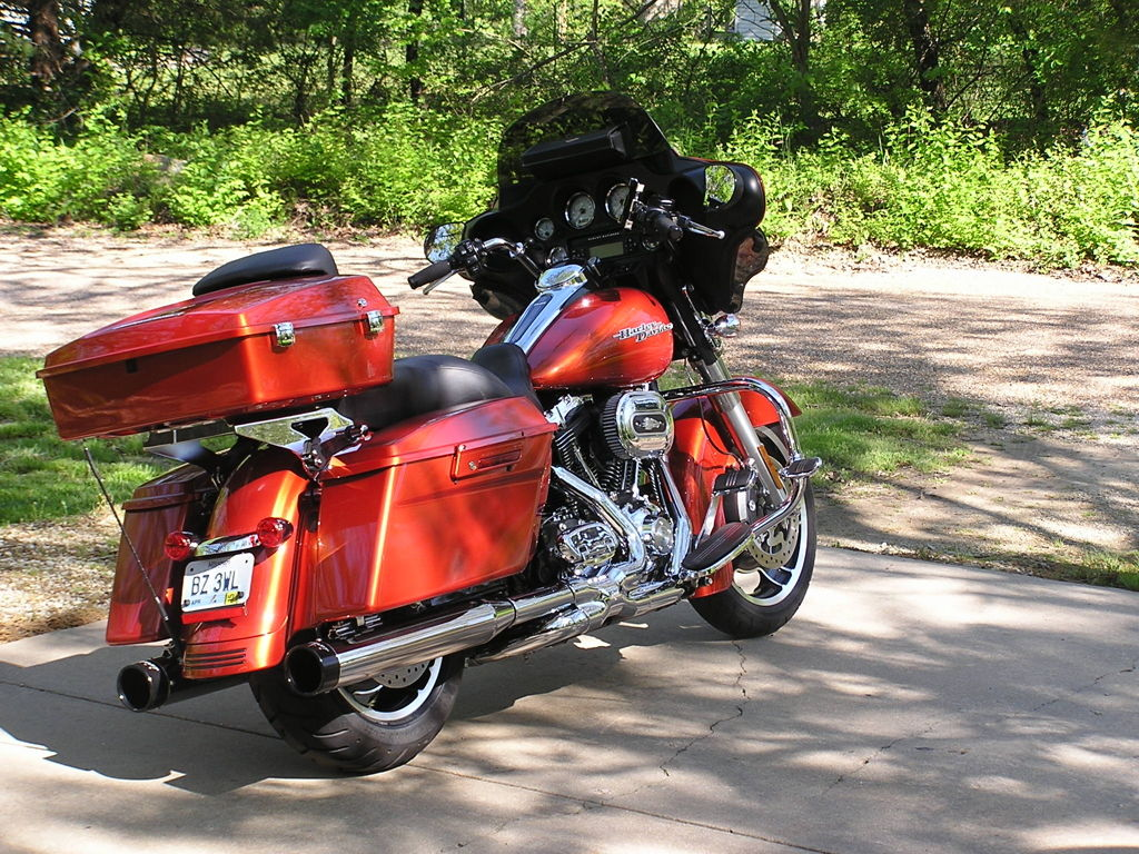 Harley Davidson Street Glide With Tour Pack