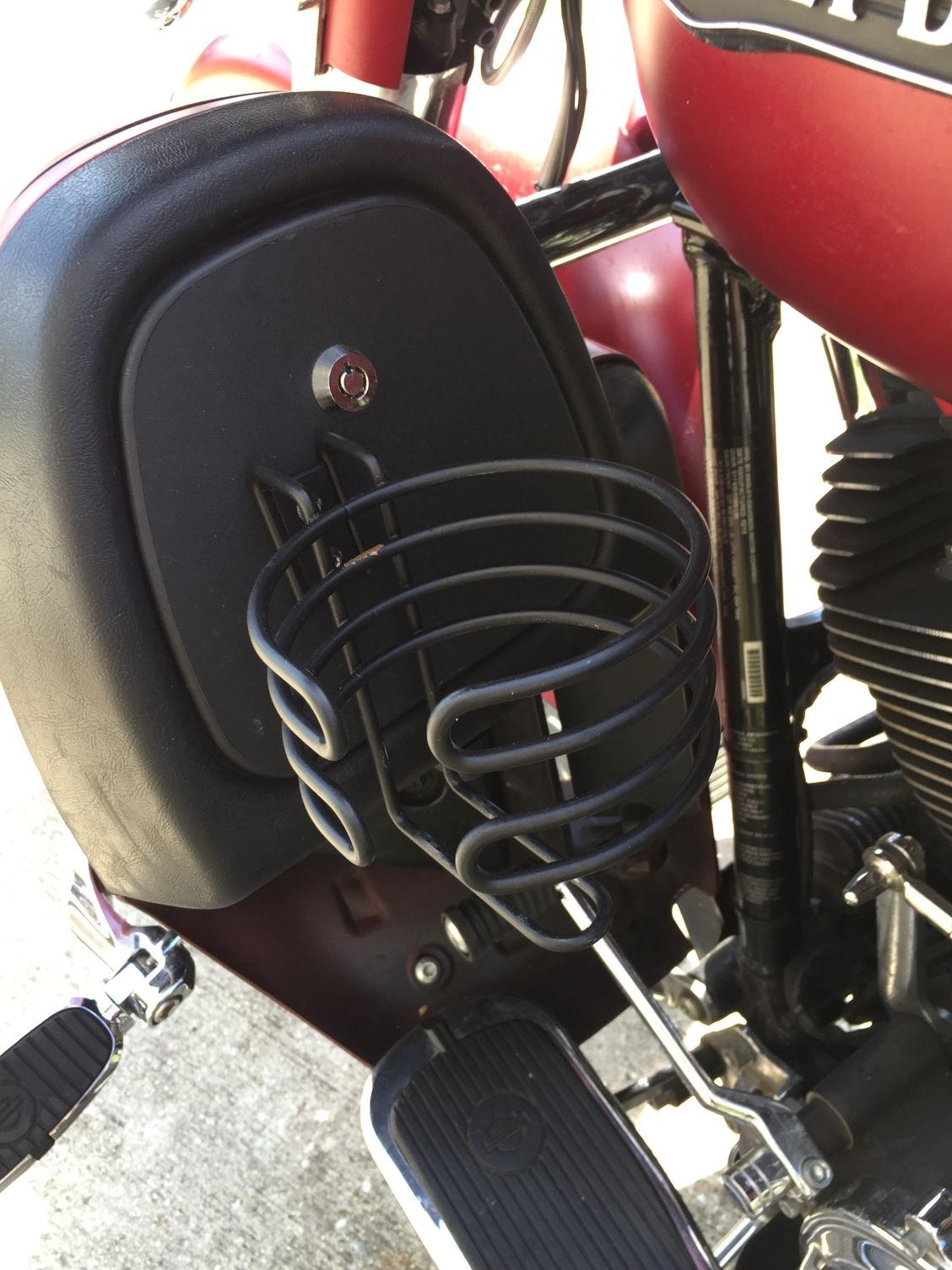 Hog Trough Cup Holders Harley Davidson Forums