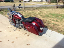 2017 flhr hot rod red flake cvo look