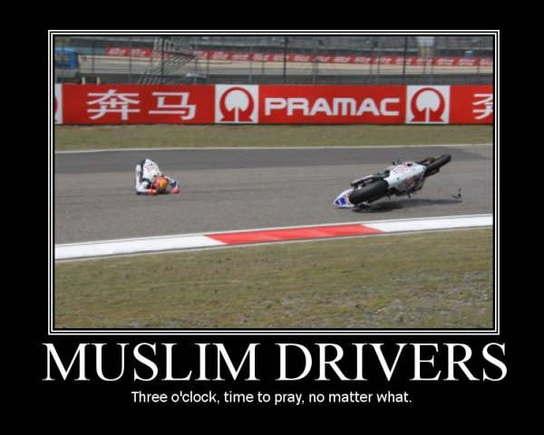 Muslim driver