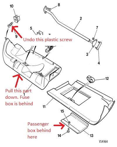 1992 xjs 5 3 conv   where u0026 39 s the driver side fuse box