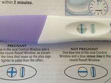 My positive pregnant test