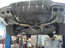 Benz C63 Exhaust Cat Converter/ Muffler & Resonator Deleted