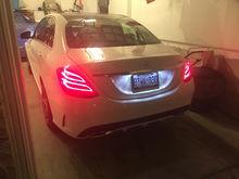 2015 Mercedes C300