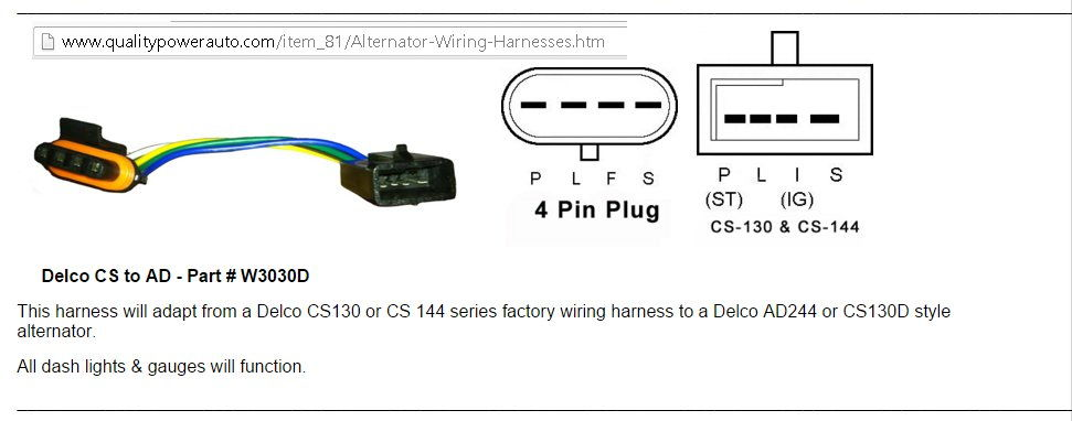 alternator cs130 to ad244 conversion third generation f message boards