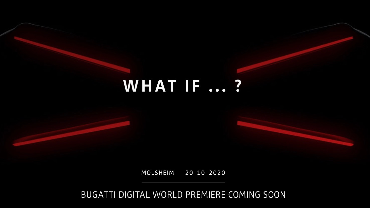 "布加迪 ""What If?"" teaser"