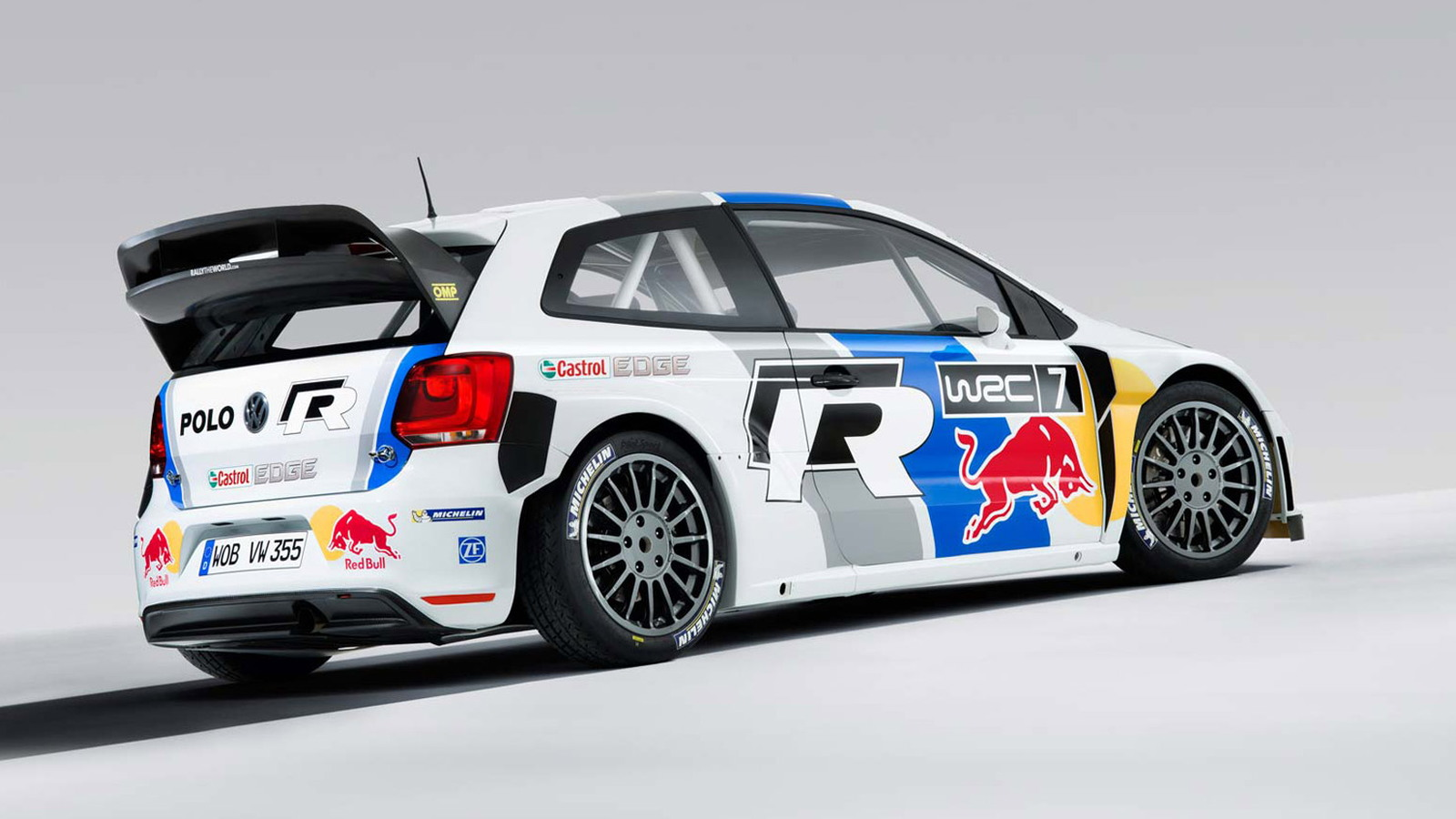 2013 大众汽车 Polo R WRC race car