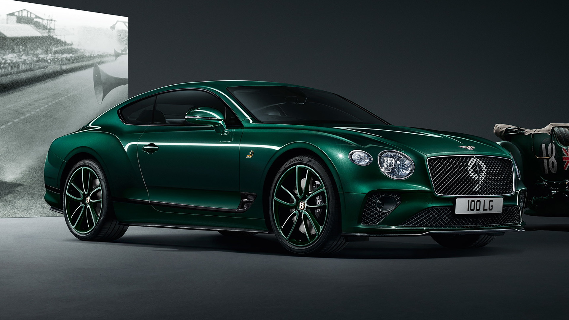 Classic Bentley Fitted With Litre Spitfire Engine Goes