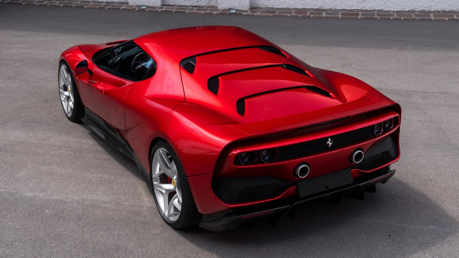 Inside the New Ferrari SP38 - A Modern F40?