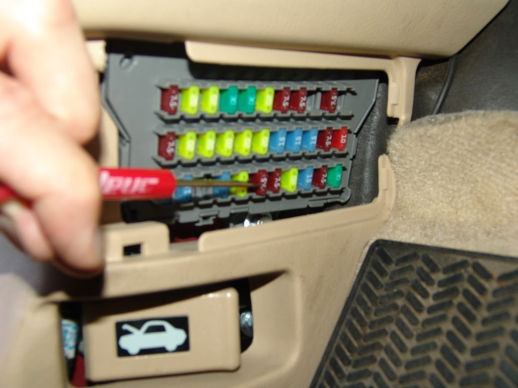 ACURA TL FUSE BOX PANEL LIST INFORMATION
