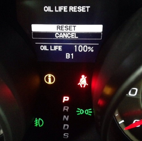 Acura MDX How To Reset The Service Light