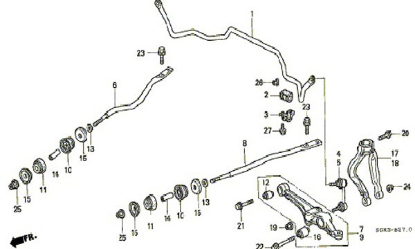 acura tl fuse box diagram image details  acura  auto
