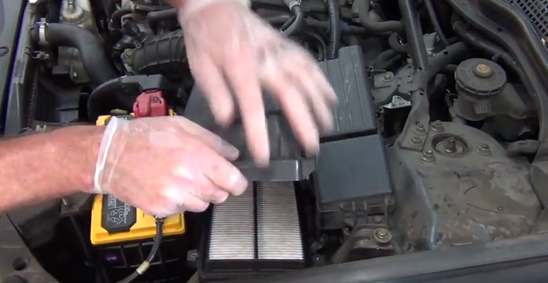 Acura TSX To How To Replace Air Filter Acurazine - Acura tsx air filter