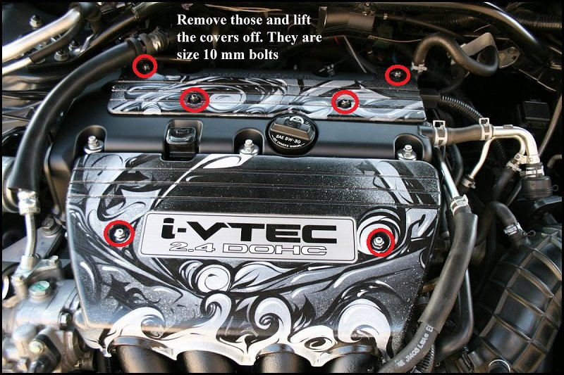 Acura TSX 2004 to 2014 How to Replace Valve Cover Gasket ...