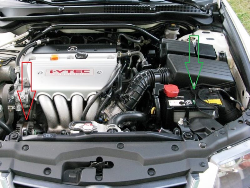 Acura TSX To Why Is Battery Not Charging Acurazine - Acura alternator