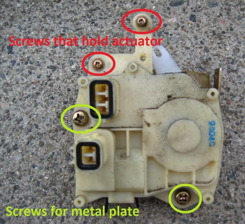 Acura MDX How To Replace Driver Door Actuator