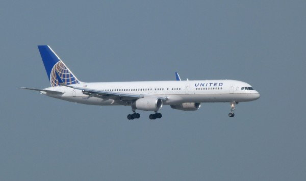 Boeing 757 at United