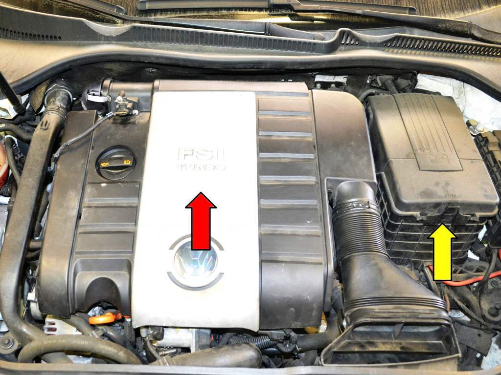 Audi A3 How to Check and Change S Tronic Automatic Transmission