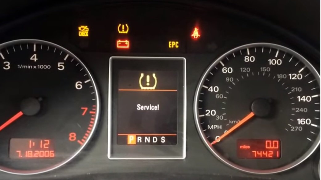 Audi A4 Dashboard Warning Lights They Mean Audi Why Is My Tire Pressure Light On Audiworld