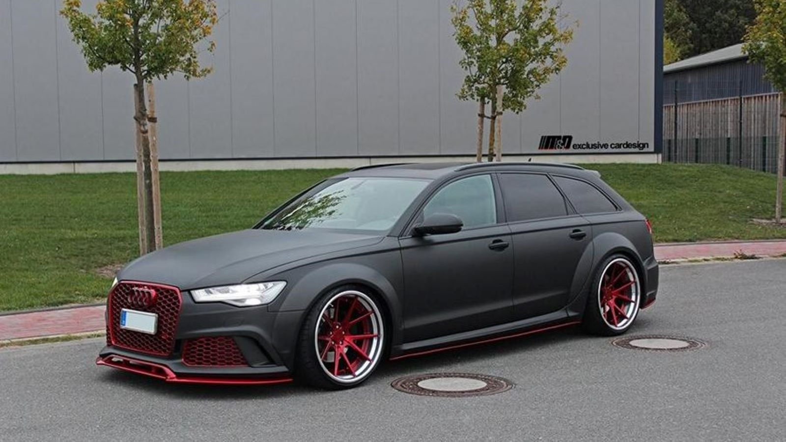Audi European Delivery >> Audi A6 Avant Looks Sinister with Bodykit and Wheels ...