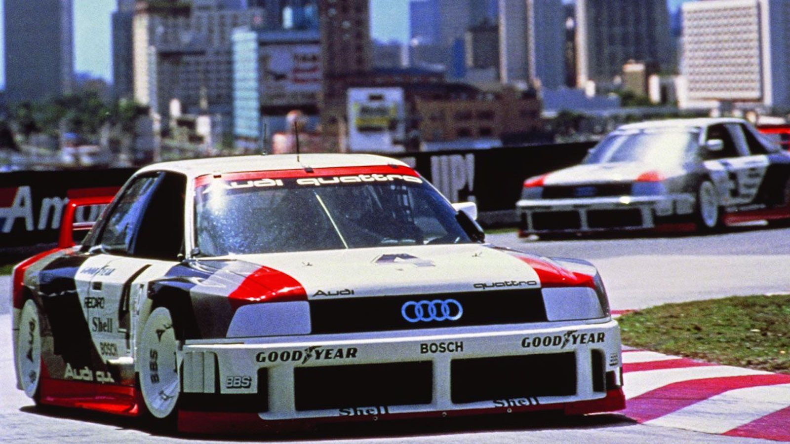 When 5 Cylinders Ruled: Audi Quattro Circuit Monsters
