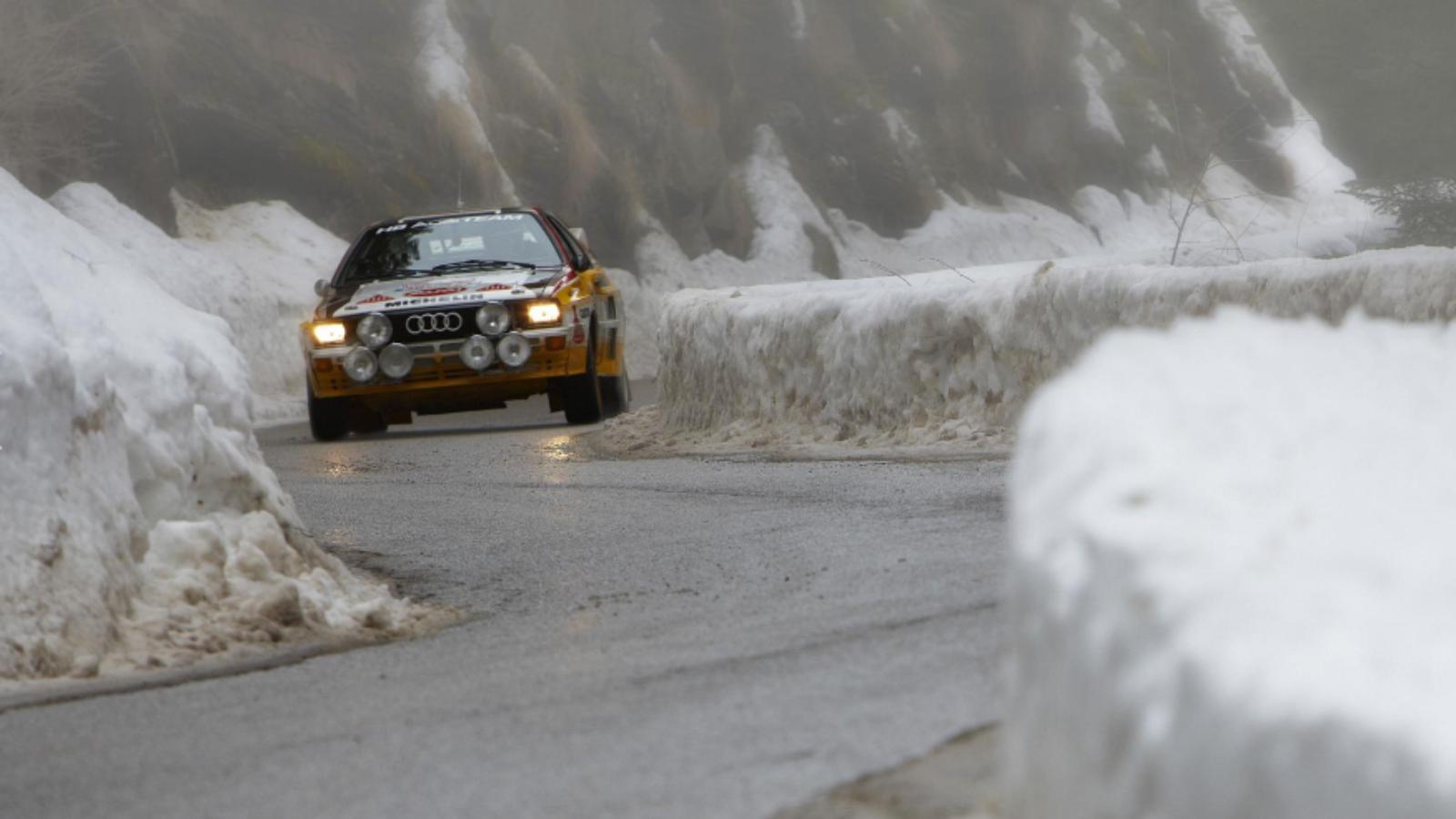 Top Gear Took a Trip with Walter Röhrl in a Ur-quattro