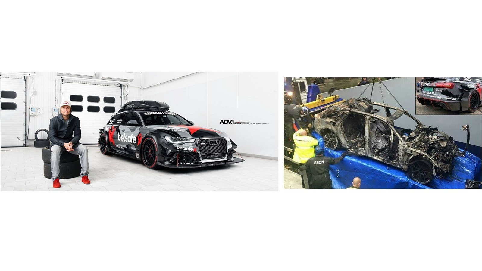 Skier Jon Olsson's RS6 Wagon Replaces What Was Stolen and Burned