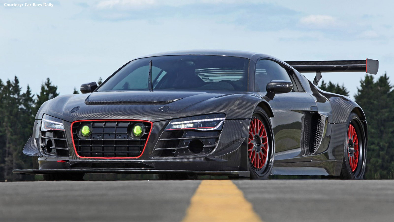 Potter and Rich Create 1000HP R8 V10 Plus