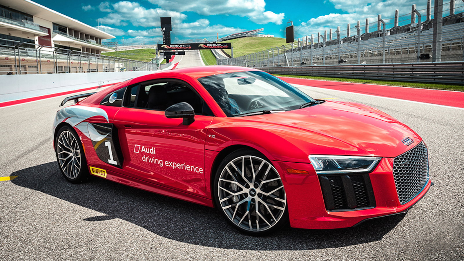 Inside the Audi Driving Experience