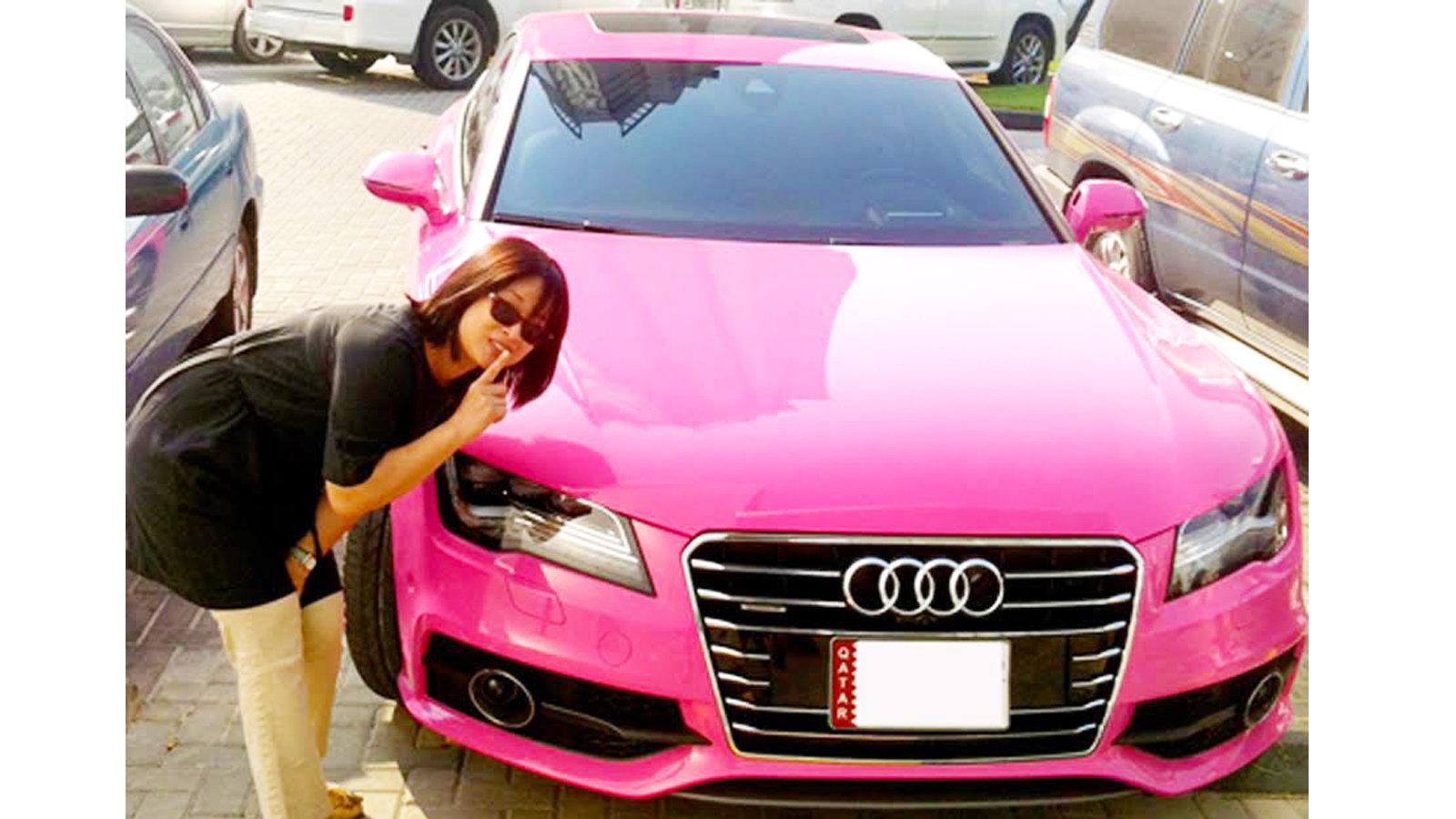 Pink patsy