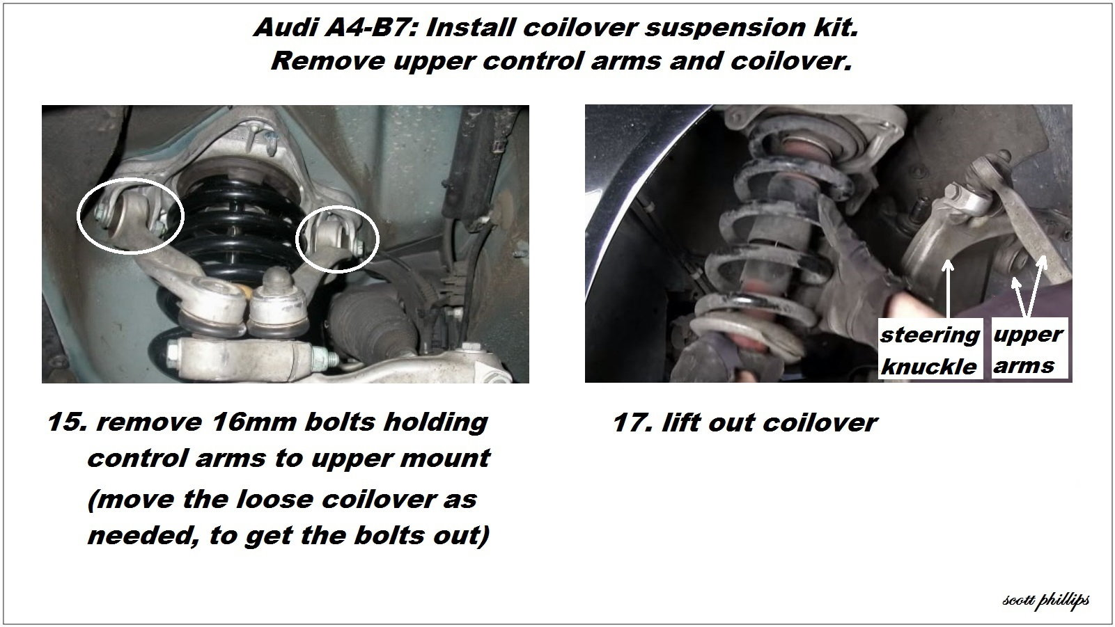 Audi A4 B7 Shock Reviews And How To Install Shock Absorber